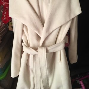 Faux Trench Coat